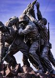 Het Monument van Jima van Iwo stock foto