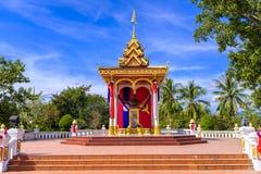 Het Monument van Kaysonephomvihane in Luang Prabang Royalty-vrije Stock Fotografie