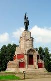 Het monument van Lenin op het grondgebied van Kostroma het Kremlin (Gouden Ring van Rusland) Stock Afbeelding
