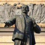 Het monument van Lenin in Orel, Rusland Stock Foto's