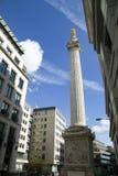 Het Monument van Londen Royalty-vrije Stock Afbeeldingen
