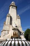 Het monument van Madrid Royalty-vrije Stock Fotografie