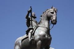 Het monument van Madrid Stock Afbeelding