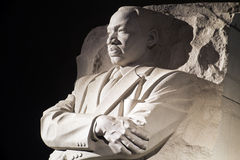 Het Monument van Martin Luther King Jr in Washington DC, stock afbeeldingen