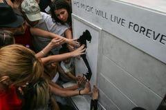 Het monument van Michael Jackson Royalty-vrije Stock Afbeelding