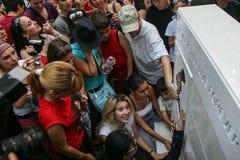 Het monument van Michael Jackson Stock Foto