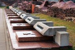 Het monument van militaire glorie Stock Afbeelding