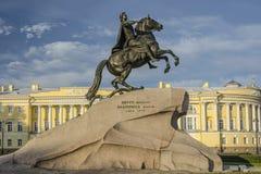 Peter het Grote monument Royalty-vrije Stock Afbeelding