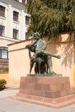 Het monument van Pushkin in Stavropol Stock Afbeelding