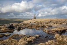 Het Monument van Stoodleysnoeken, Pennine Manier Royalty-vrije Stock Fotografie