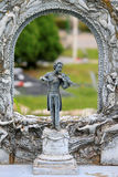 Het monument van Strauss royalty-vrije stock foto