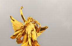 Het Monument van Victoria in het Buckingham Palace Stock Foto