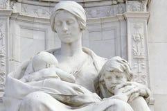 Het monument van Victoria op Buckingham Palace Stock Foto's