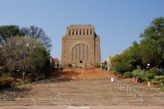 Het monument van Voortrekker Stock Foto's