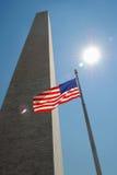 Het monument van Washington royalty-vrije stock foto