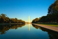 Het monument van Washington Stock Foto