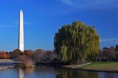 Het monument van Washington Stock Afbeelding