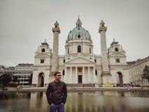 Het monument van Wenen Stock Foto