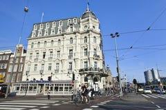Het monumentale hotel van Victoria in Amsterdam Stock Foto's