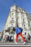 Het monumentale hotel van Victoria in Amsterdam Royalty-vrije Stock Afbeeldingen