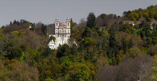 Het Mooie 'Heiligdom van Bom Jesus in Braga royalty-vrije stock afbeelding