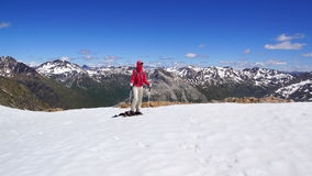 Het mooie berglandschap van Munt Pers 3207m Royalty-vrije Stock Afbeelding