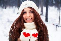 Het mooie de vrouw van Yong glimlachen Stock Afbeeldingen