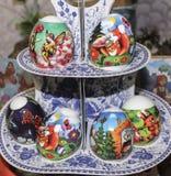 Het mooie decoratieve ei van Pasen Royalty-vrije Stock Afbeelding