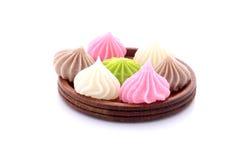 Het mooie dessert van Thailand Royalty-vrije Stock Afbeeldingen