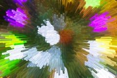 Het mooie driedimensionele beeld Stock Foto