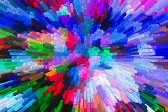 Het mooie driedimensionele beeld Stock Afbeelding