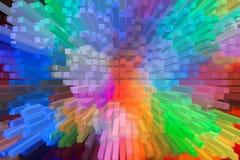 Het mooie driedimensionele beeld Stock Fotografie