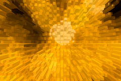 Het mooie driedimensionele beeld Royalty-vrije Stock Foto's
