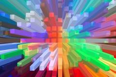 Het mooie driedimensionele beeld Royalty-vrije Stock Afbeelding