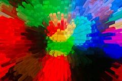 Het mooie driedimensionele beeld Royalty-vrije Stock Fotografie