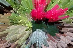 Het mooie driedimensionele beeld Stock Foto's