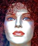 Het mooie Gezicht van Doll Royalty-vrije Stock Fotografie