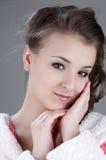 Het mooie Gezicht van het Meisje Royalty-vrije Stock Foto
