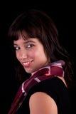 Het mooie Glimlachen van de Vrouw Stock Afbeeldingen