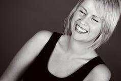 Het mooie Glimlachende Meisje van de Blonde royalty-vrije stock fotografie