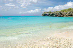Het mooie Grote Knip-Strand in de Caraïben royalty-vrije stock foto's