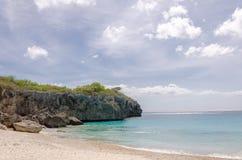 Het mooie Grote Knip-Strand in de Caraïben royalty-vrije stock fotografie