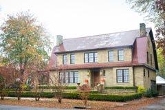 Het mooie Huis van de Familie Royalty-vrije Stock Afbeelding