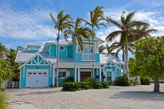 Het mooie Huis van Florida royalty-vrije stock afbeelding