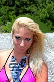 Het mooie jonge meisje royalty-vrije stock fotografie