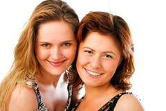 Het mooie jonge vrouwen stellen Royalty-vrije Stock Fotografie