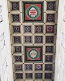 Het mooie kathedraal cealing in Kaïro Royalty-vrije Stock Foto