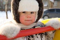 Het mooie kleine kind royalty-vrije stock afbeelding