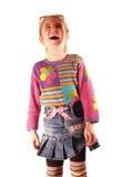 Het mooie lachen Stock Foto's