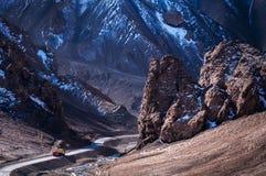 Het Mooie Landschap: Het reizen in Sinkiang stock foto's
